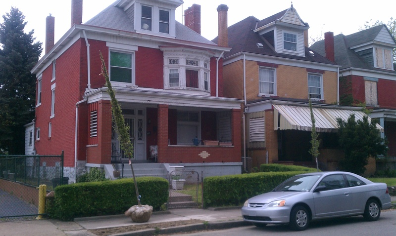 What house style is this pittsburgh homewood houses for American foursquare homes for sale